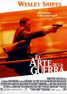 Filmografía de Wesley Snipes/ Filmes de Acción y Thrillers El-arte-de-la-guerra-2000