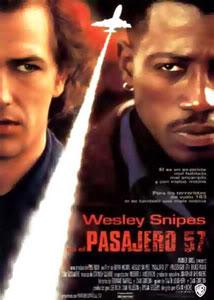 Filmografía de Wesley Snipes/ Filmes de Acción y Thrillers Pasajero-57-1992