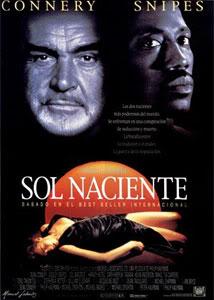 Filmografía de Wesley Snipes/ Filmes de Acción y Thrillers Sol-naciente-1993