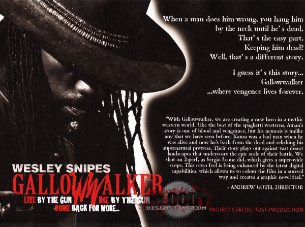 Wesley Snipes Gallowwalker