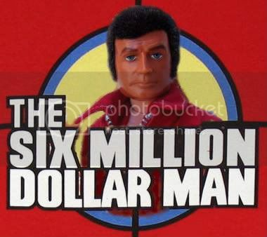 Custom Six Million Dollar Man Poster