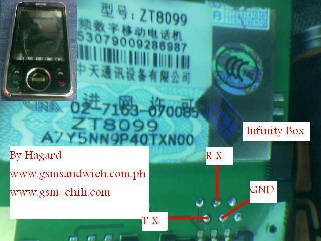 china phone pin out here.... ZTC-ZT8099