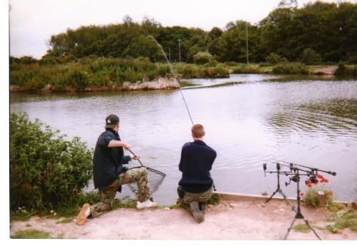 photo of your self playing a fish Gimmingham9