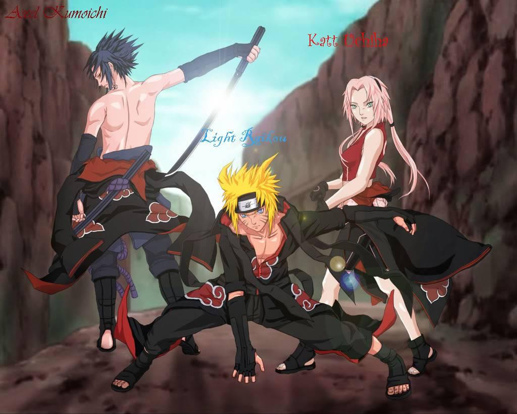Uh....Leo Person Thingy.... Sakura-naruto-sasuke-akatsuki-narut