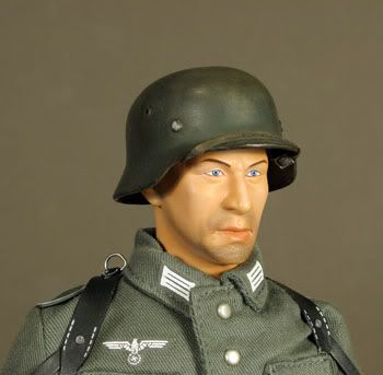 1/6 Scale German Helmet Mineonhead