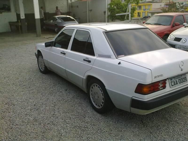 Vendo W201 190E 2.6 Branca- VENDA SUSPENSA PROVISORIAMENTE 15092010329
