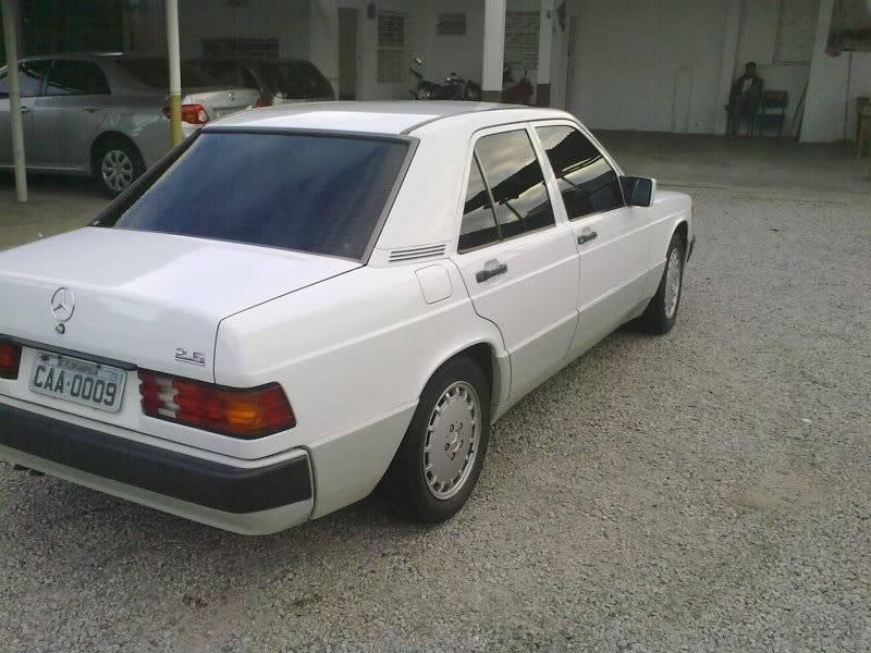 Vendo W201 190E 2.6 Branca- VENDA SUSPENSA PROVISORIAMENTE 15092010331