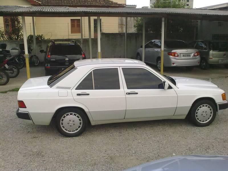 Vendo W201 190E 2.6 Branca- VENDA SUSPENSA PROVISORIAMENTE 15092010332
