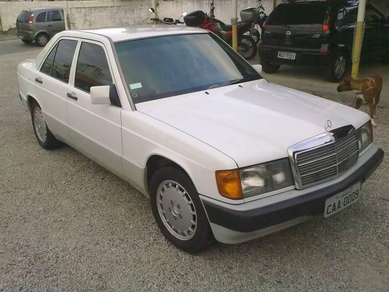 Vendo W201 190E 2.6 Branca- VENDA SUSPENSA PROVISORIAMENTE 15092010333