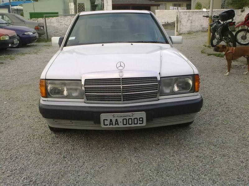 Vendo W201 190E 2.6 Branca- VENDA SUSPENSA PROVISORIAMENTE 15092010334