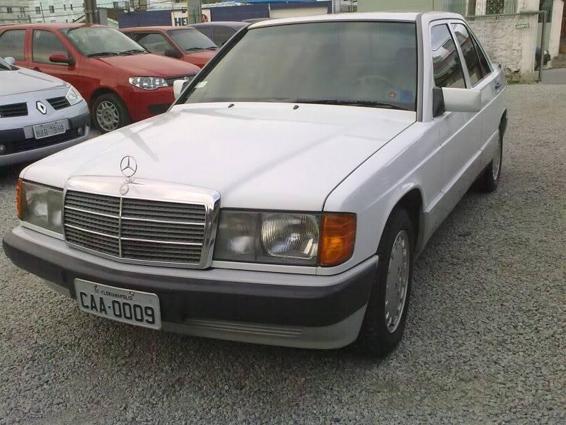 Vendo W201 190E 2.6 Branca- VENDA SUSPENSA PROVISORIAMENTE 15092010335