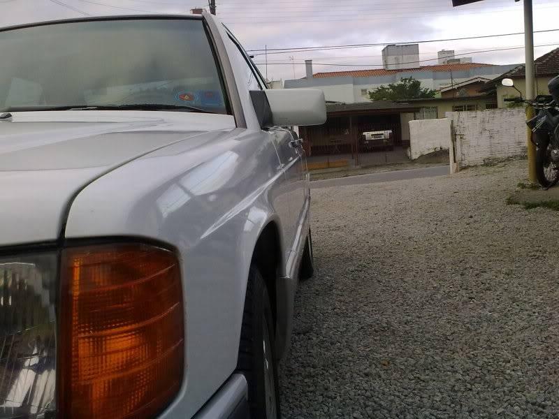 Vendo W201 190E 2.6 Branca- VENDA SUSPENSA PROVISORIAMENTE 15092010336