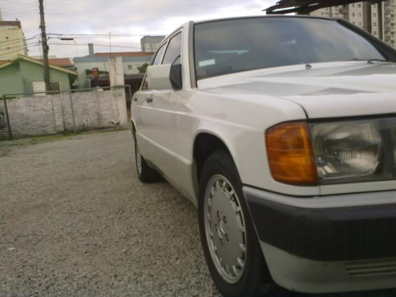 Vendo W201 190E 2.6 Branca- VENDA SUSPENSA PROVISORIAMENTE 15092010338