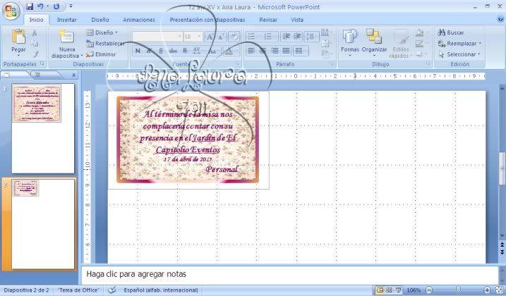 TAREAS DEL CURSO DE INVITACIONES CON POWER POINT - Página 4 Tarea2B