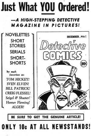 Guía de Comics Norteamericanos AvisoDetective