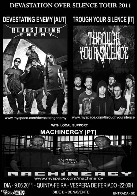 "MACHINERGY ""Sounds Evolution"" Video Premiere ON AIR! - Página 3 Cartazdia9062011"