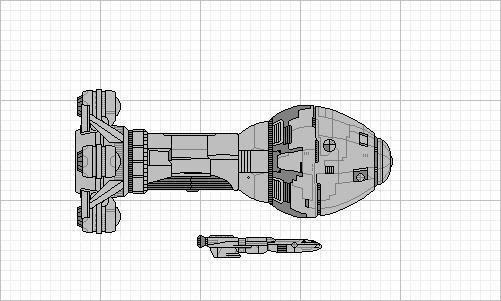 Curiosidades de la nave de salto Scout C-EarthScoutmod