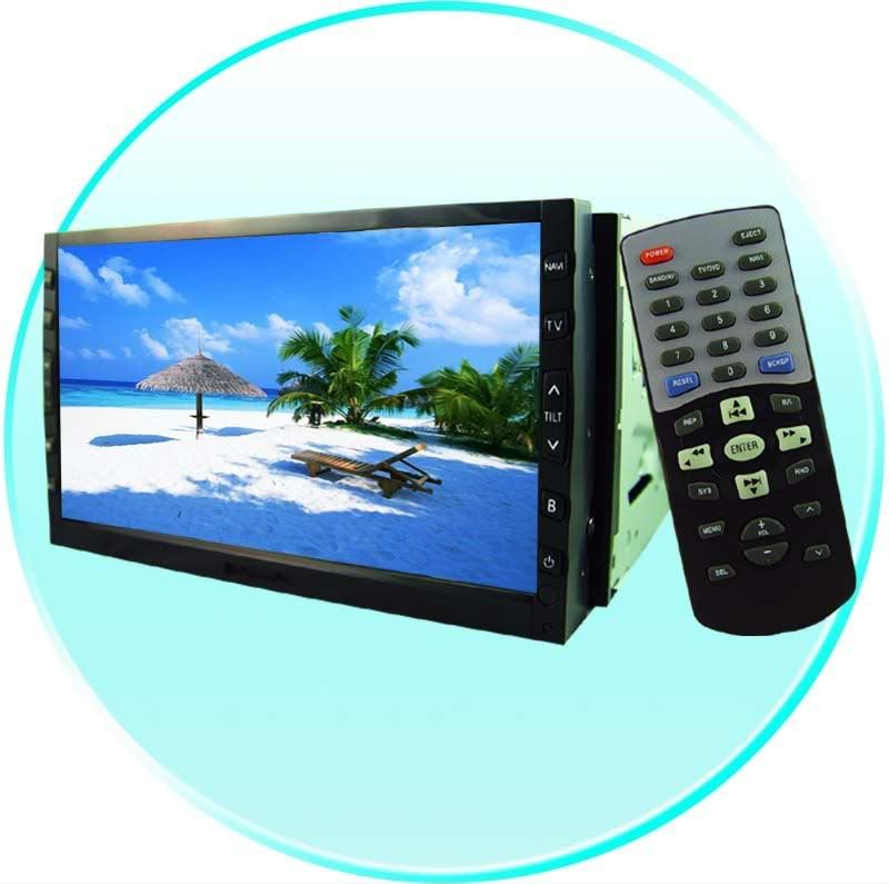Single and Double DIN DVD Players PicofDVD