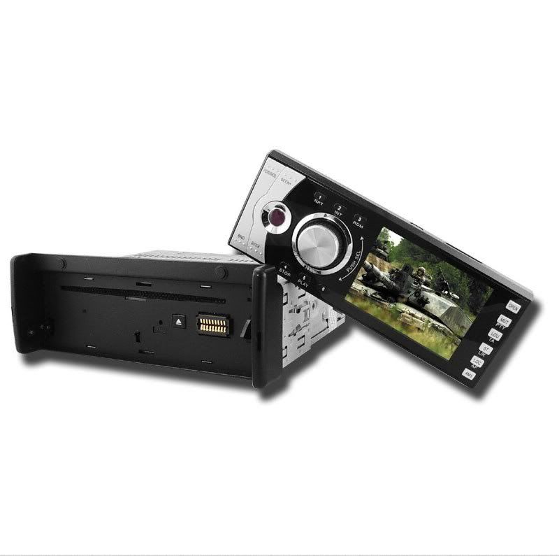 Single and Double DIN DVD Players Singledvd1