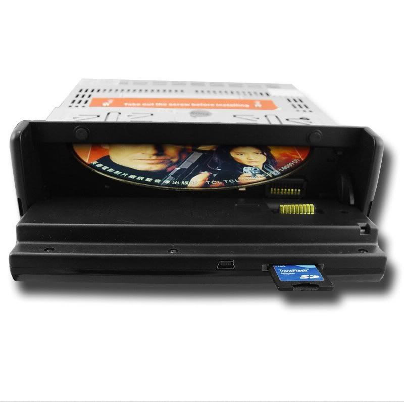 Single and Double DIN DVD Players Singledvd2