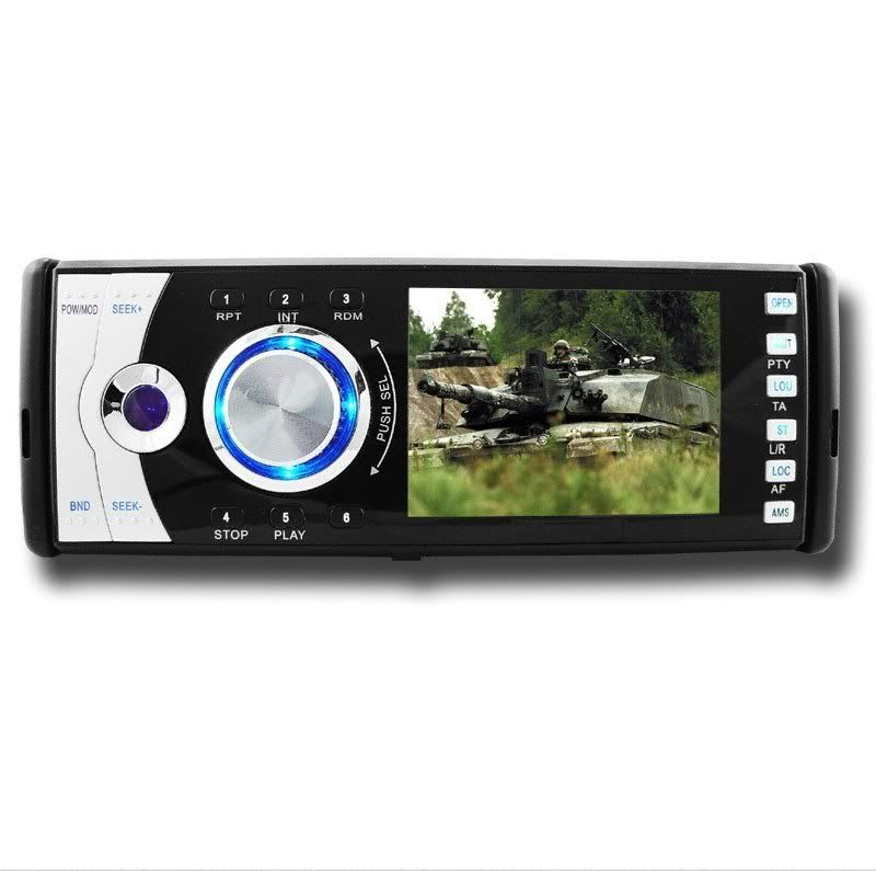 Single and Double DIN DVD Players Singledvd3