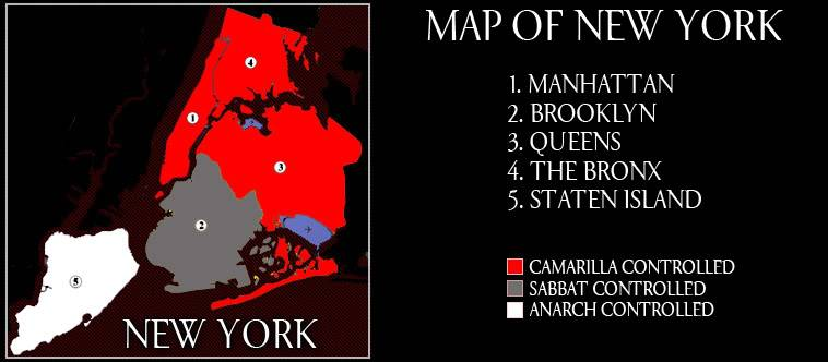 The Bronx is Up and the Battery is Down Map