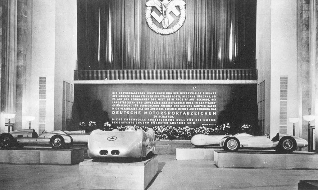 Tranche d'histoire - Les GP d'Allemagne 193920berlin20motor20show20auto20un