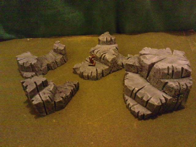 Jungle ruins....and Lustrian stuff I've made. Davespics020-2