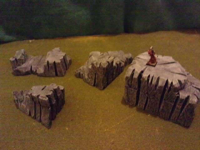 Jungle ruins....and Lustrian stuff I've made. Davespics021-2