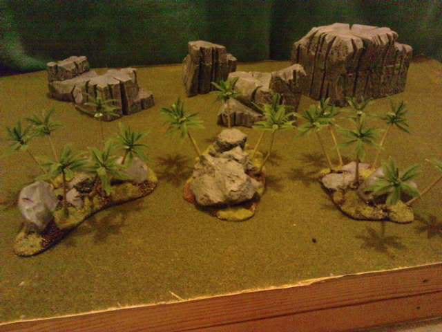 Jungle ruins....and Lustrian stuff I've made. Davespics022-2
