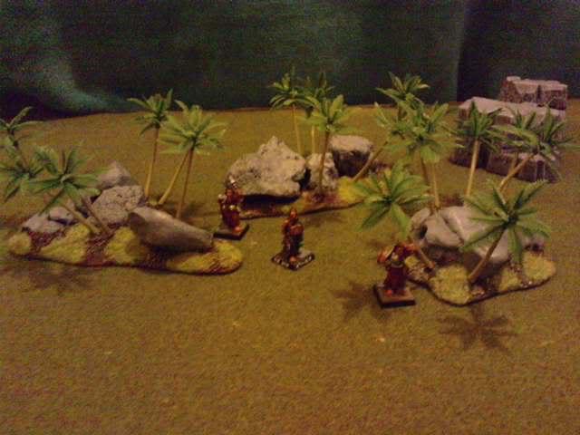 Jungle ruins....and Lustrian stuff I've made. Davespics023-2
