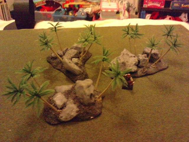 Jungle ruins....and Lustrian stuff I've made. Davespics072
