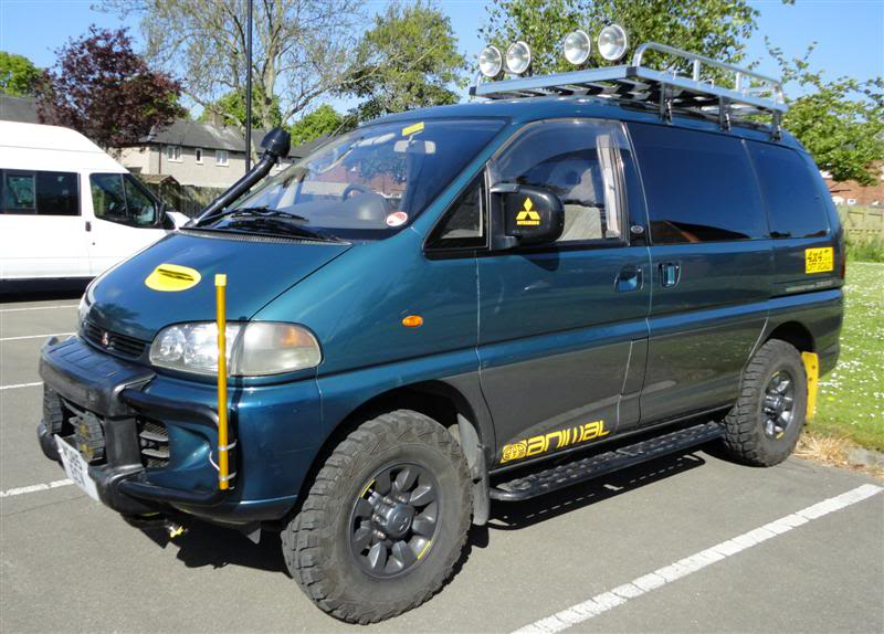 New to site, L400 Delica 4x4 Campervan on a shoestring budget DSC04174cropMedium