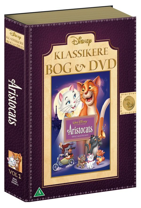 Operation Un DVD + Un Livre (Bernard et bianca, frere des ours...) - Page 2 Disney-Klassikere-Bog-og-DVD-Ari-2