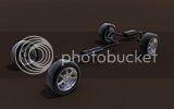 Bentley Continental R (1996). Th_suspenstion