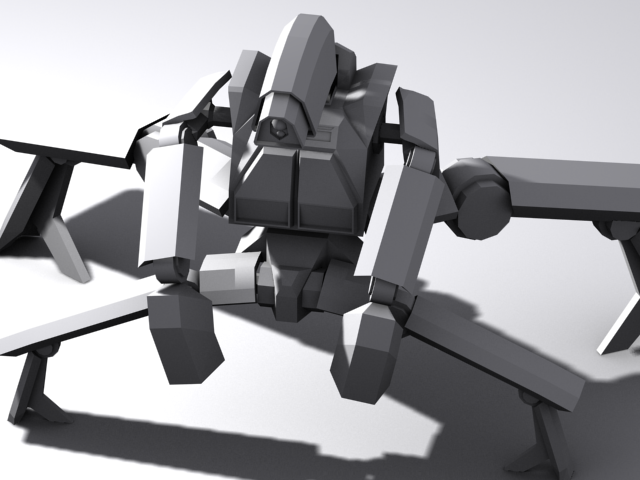 Mr.Inferior of the two Admins's Animations Robot4