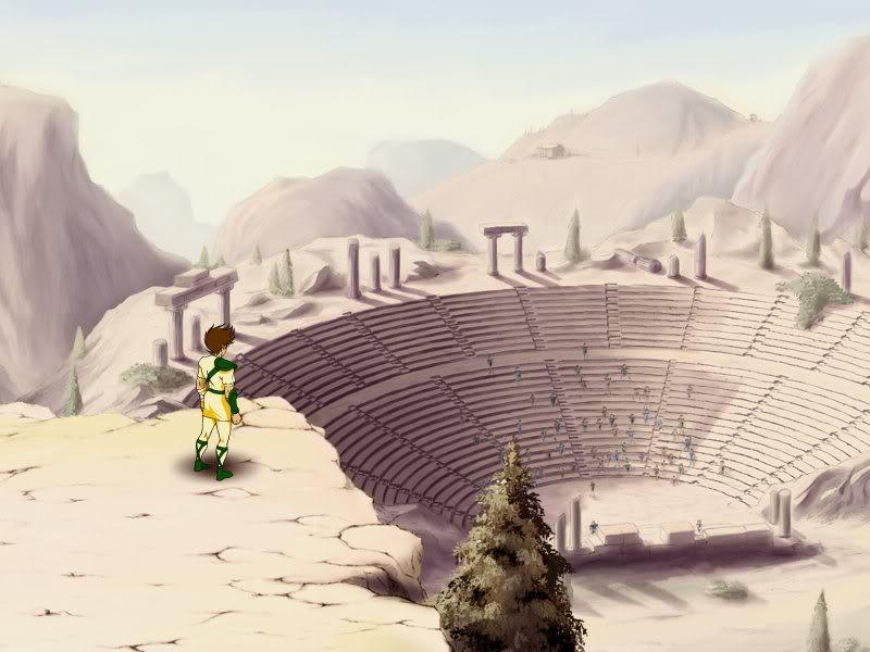 Saint Seiya  (Les Chevaliers du Zodiaque ) dans les jeux vidéo. Seiya-colosseum-01