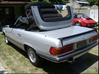 Mercedes 450SL 1975 - R$49.800 MERCEDESBENZ-450-SL-45-CONVERSIV-1