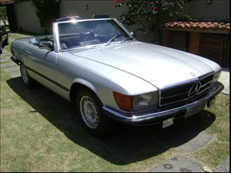Mercedes 450SL 1975 - R$49.800 MERCEDESBENZ-450-SL-45-CONVERSIV-3