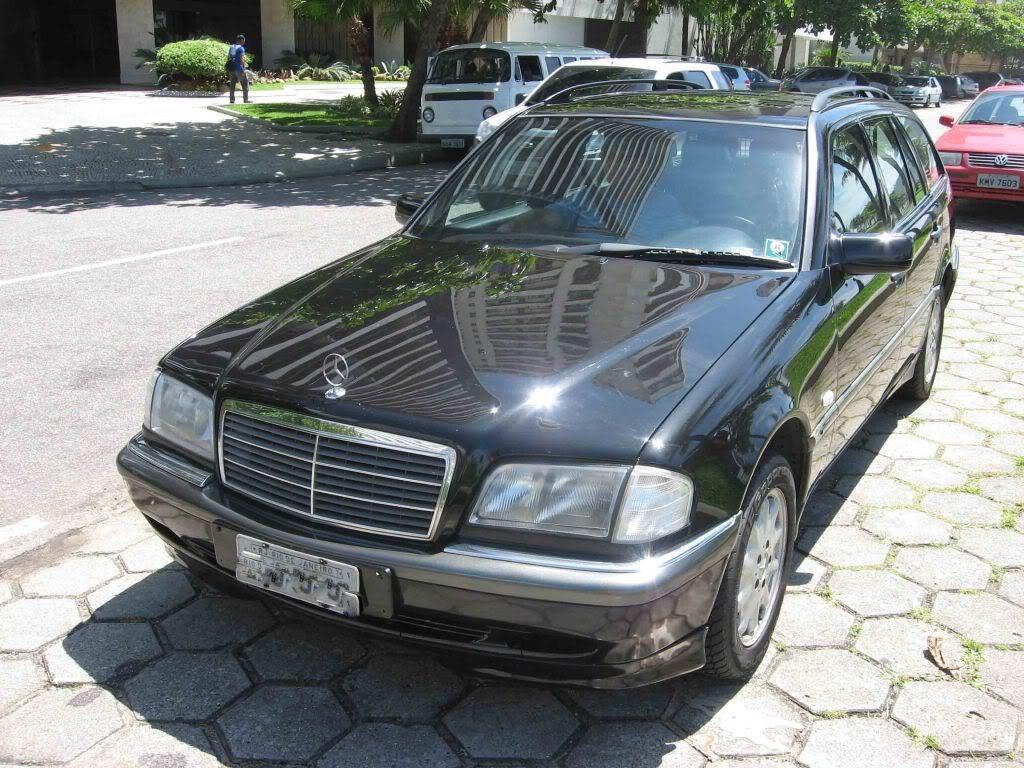 Baixei o preço da C280T 1998 para R$ 27.900,00 - Vendida Mercedes07da2