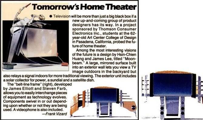 TV of Tomorrow Flatpla
