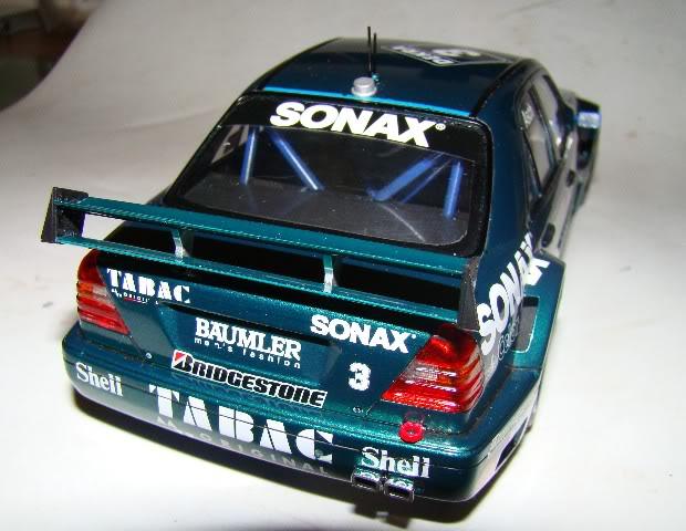 AMG MERCEDES C-CLASS DTM – TABAC-ORIGINAL SONAX -Tamiya 0007-21