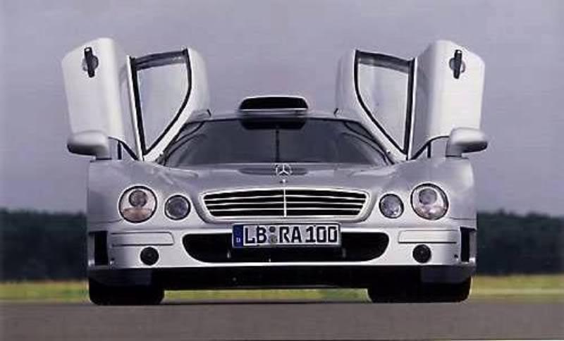 Mercedes Benz CLK GTR Asa