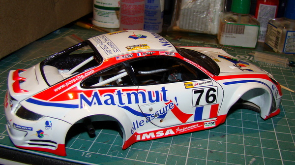 Porsche 911 GT3 RSR-997 Le Mans 2007 - MATMUT DSC02267