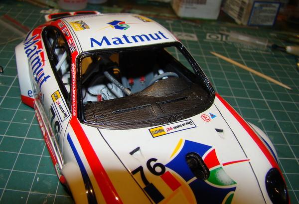 Porsche 911 GT3 RSR-997 Le Mans 2007 - MATMUT DSC02268