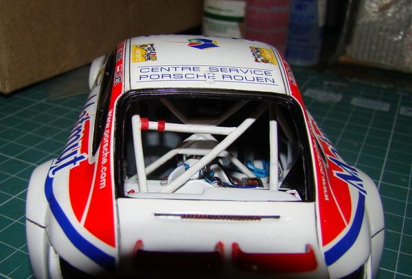 Porsche 911 GT3 RSR-997 Le Mans 2007 - MATMUT DSC02274