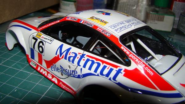 Porsche 911 GT3 RSR-997 Le Mans 2007 - MATMUT DSC02275