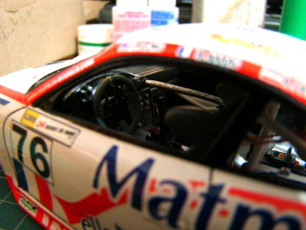Porsche 911 GT3 RSR-997 Le Mans 2007 - MATMUT DSC02282