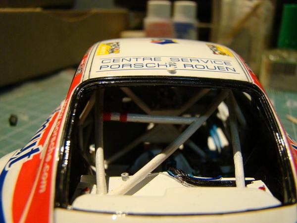 Porsche 911 GT3 RSR-997 Le Mans 2007 - MATMUT DSC02288