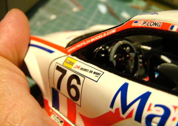 Porsche 911 GT3 RSR-997 Le Mans 2007 - MATMUT DSC02289